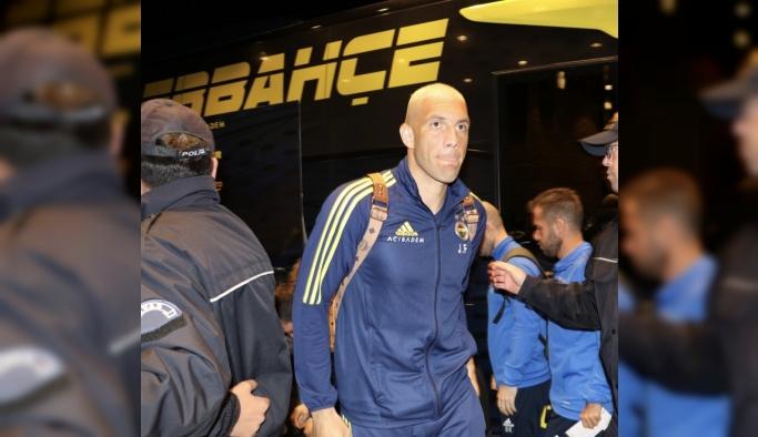 Fenerbahçe kafilesi Sivas'a geldi