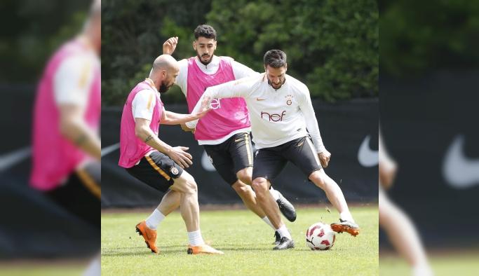 Galatasaray, Akhisarspor maçı hazırlıklarına başladı