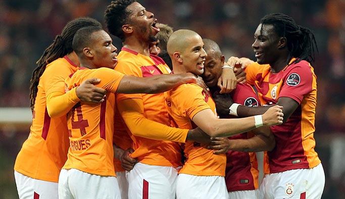 Galatasaray kendi evinde Başakşehir karşısında rahat kazandı (maç özeti)