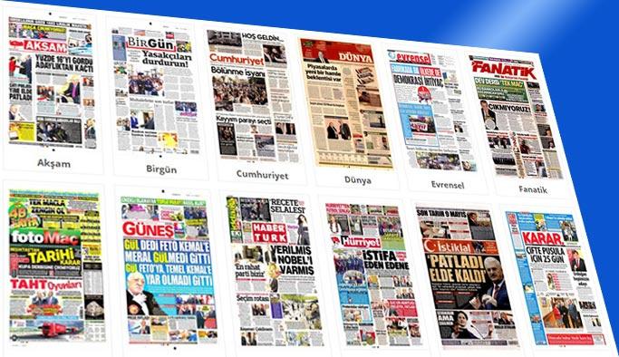 Bugünün Gazete manşetleri 27 Nisan 2018