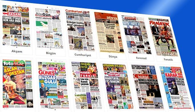 Gazete manşetleri - 30 Nisan 2018