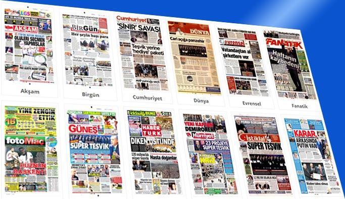 Gazetelerin bugünkü manşetleri 10 Nisan 2018