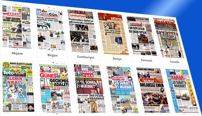 Gazetelerin bugünkü manşetleri 14 Nisan 2018