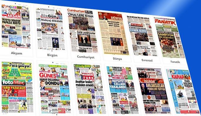 Gazetelerin bugünkü manşetleri 17 Nisan 2018