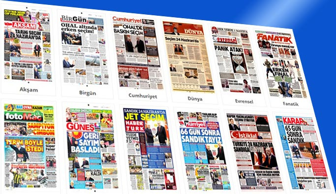 Gazetelerin bugünkü manşetleri 19 Nisan 2018