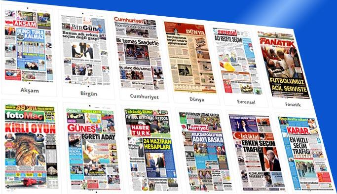 Gazetelerin bugünkü manşetleri (20 Nisan 2018)
