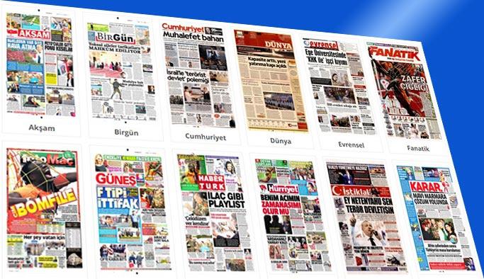 Gazetelerin bugünkü manşetleri 2 Nisan 2018