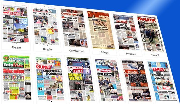 Gazetelerin bugünkü manşetleri 7 Nisan 2018