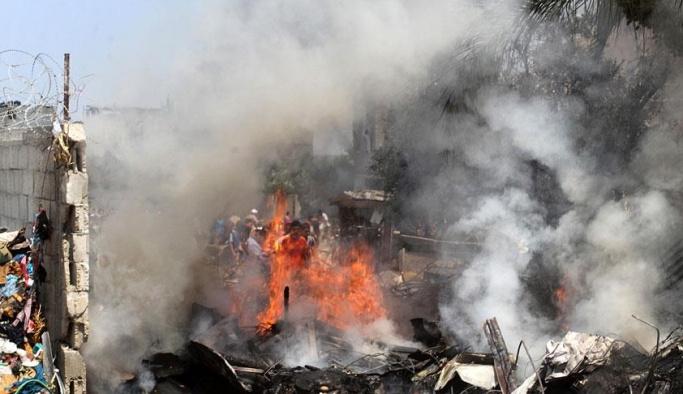Gazze'de patlama: 4 ölü
