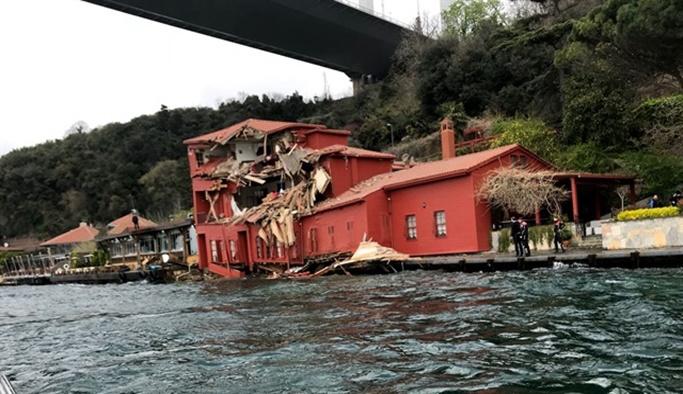 Geminin çarptığı tarihi yalı için karar çıktı