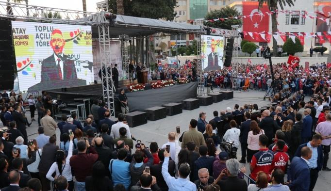 Hatay Büyükşehir Belediyesi Toplu Açılış Töreni