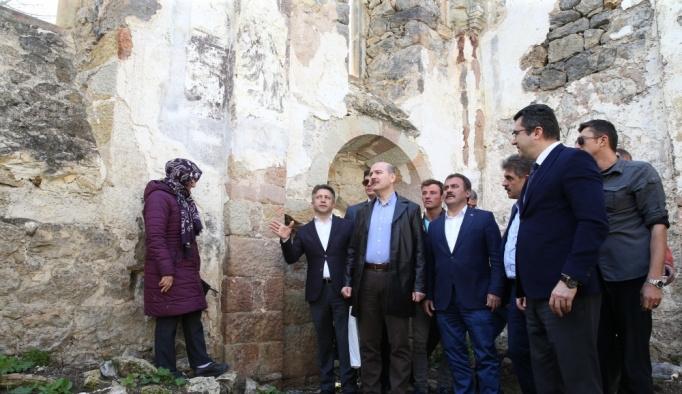 İçişleri Bakanı Soylu, Trabzon'da