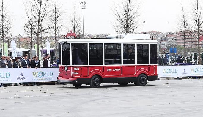 İETT'nin sürücüsüz aracı tanıtıldı