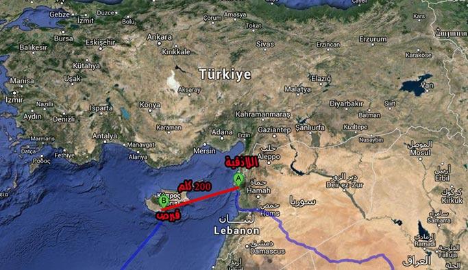 İngiltere, Suriye'yi Güney Kıbrıs'tan vurdu