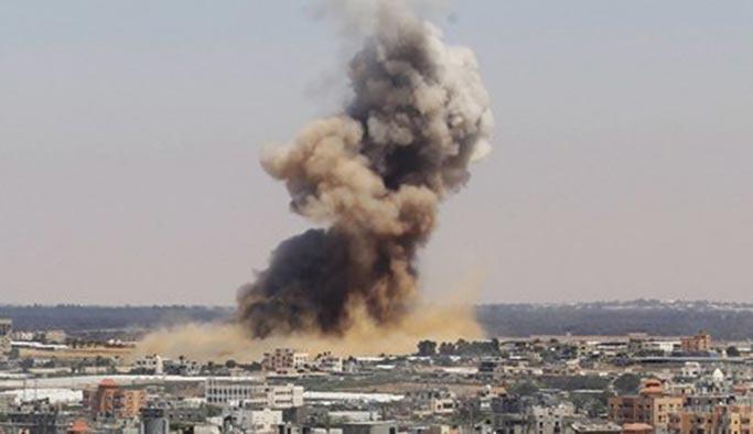 İsrail'den Gazze'ye hava saldırısı: 1 şehit