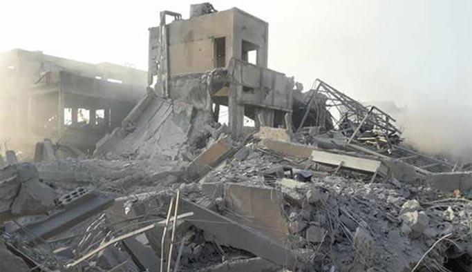 İşte Suriye'de vurulan hedeflerin son hali