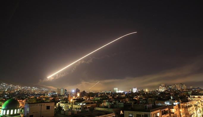 İşte Suriye'de vurulan noktalar