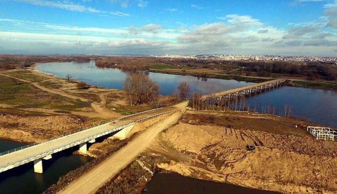 'Kanal Edirne'nin yüzde 95'i bitti'