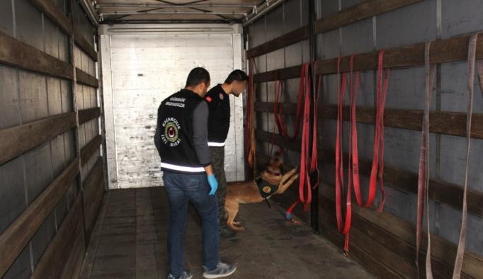 Kapıkule'de 153 kilogram uyuşturucu yakalandı