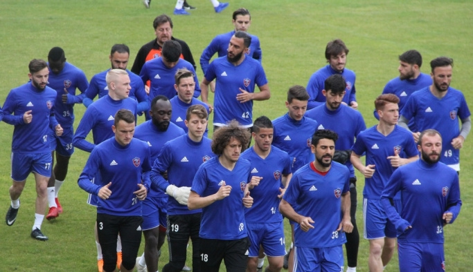 Kardemir Karabükspor, Bursaspor maçı hazırlıklarına başladı