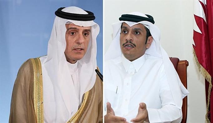 Katar'dan S. Arabistan'ın 'ABD' imasına net yanıt