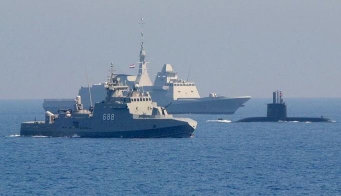 Kızıldeniz'de Mısır-BAE ortak deniz tatbikatı