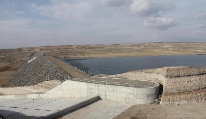 Kocakurt Barajı tamamlandı