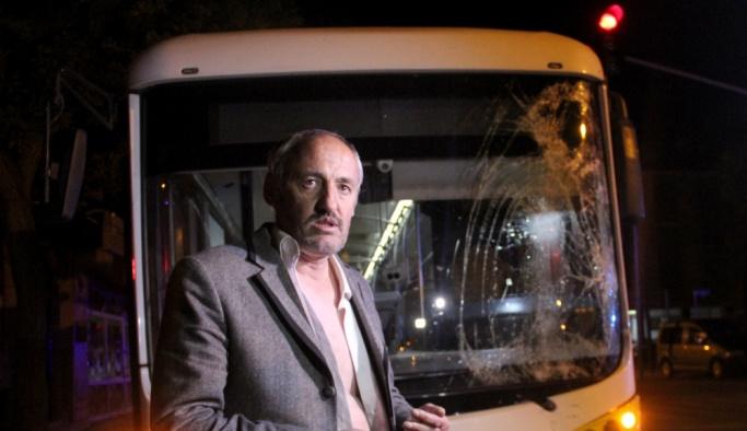 Konya'da belediye otobüsü şoförüne darp iddiası