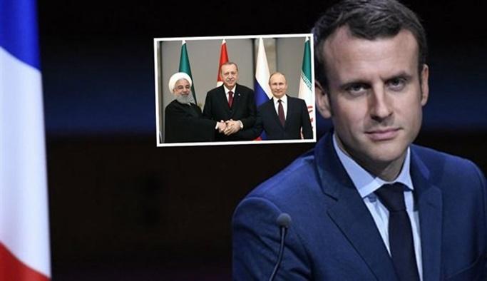 'Macron bu kareye girmek istedi ama...'
