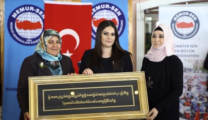 Memur-Sen İstanbul Kadın Buluşması