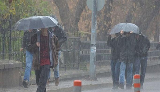 Meteorolojiden 14 ile son dakika yağış uyarısı