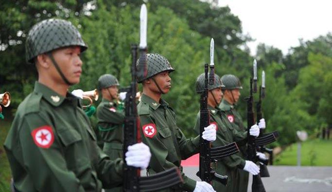 Myanmar ordusu utanç listesinde