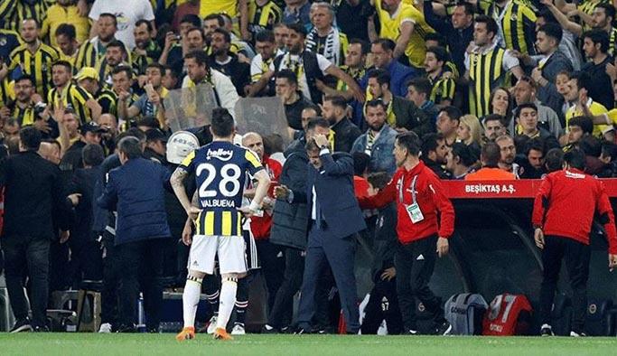 Olaylı derbi nedeniyle Fenerbahçe'ye ceza