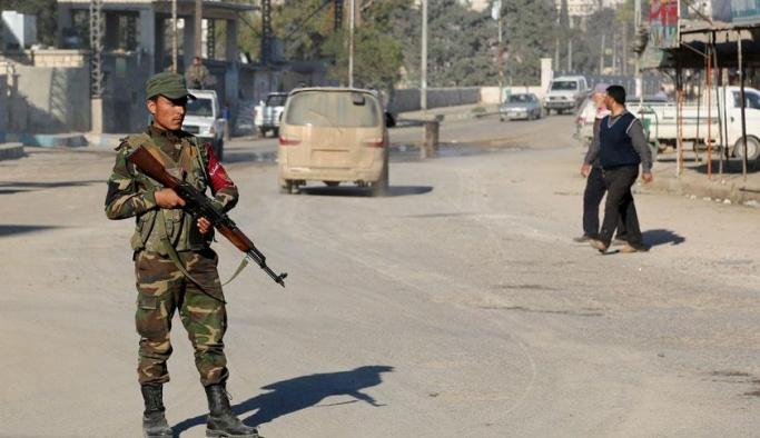 ÖSO'dan oluşan 'polis gücü' Afrin'de göreve başladı