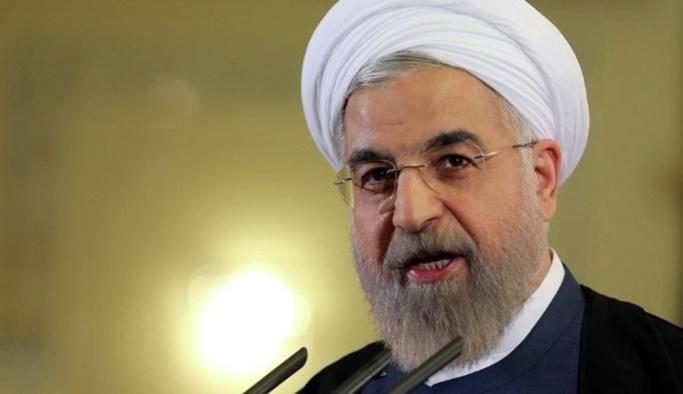 Ruhani, İran'daki kriz için ABD'yi suçladı