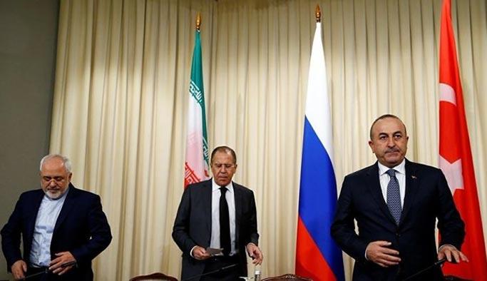 Rusya'da Suriye için üçlü zirve