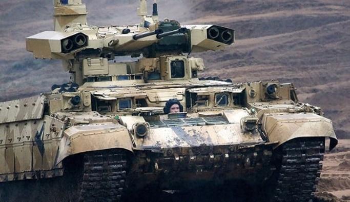 Rusya'nın 'Terminator'ü göreve başladı