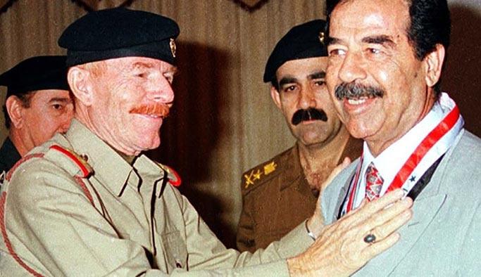 Saddam'ın sağ kolu yeniden ortaya çıktı