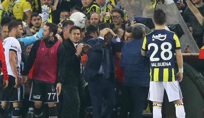 Saha karıştı, Fenerbahçe-Beşiktaş maçı tatil