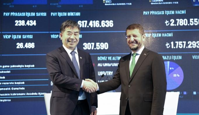 Şangay Altın Borsası'ndan Borsa İstanbul'a ziyaret