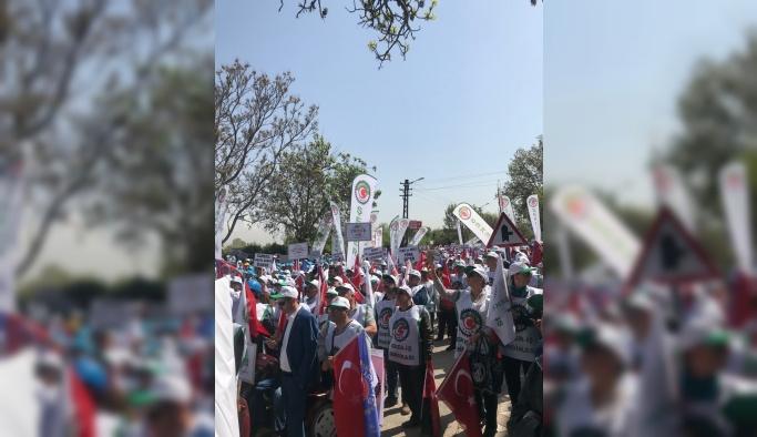 Şeker işçileri özelleştirmeye karşı toplandı