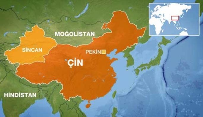 'Sincan bölgesinde 10 binlerce kişi gözaltına alındı'