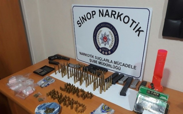 Sinop'ta uyuşturucu satıcılarına yönelik operasyon