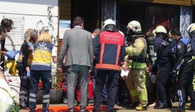 Sultanahmet'te otelde yangın: 1 ölü