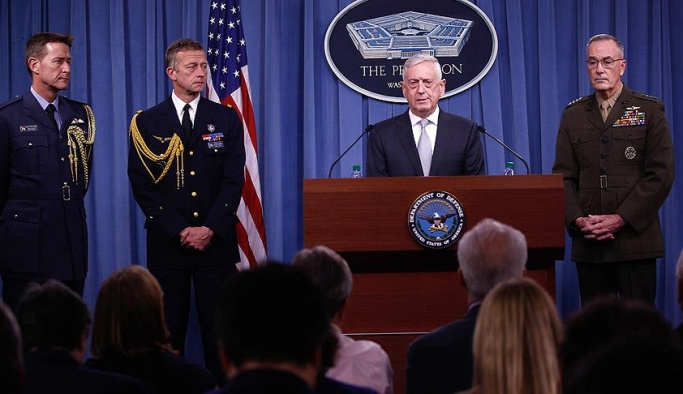 Suriye vuruldu, Pentagon'dan ilk açıklamalar