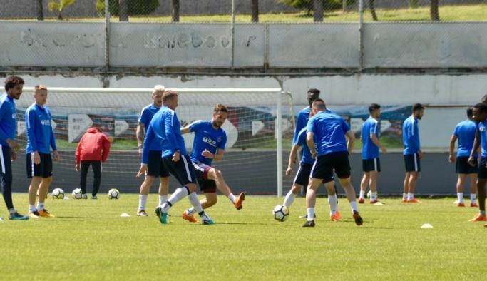 Trabzonspor, Antalyaspor maçının hazırlıklarını sürdürdü