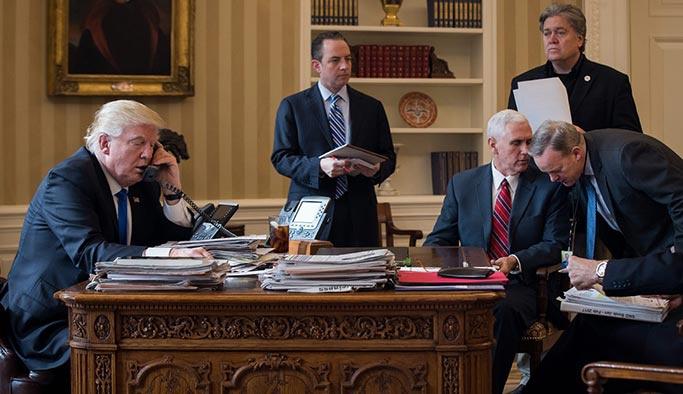 Trump'ın Suriye kararı Beyaz Saray'a takıldı