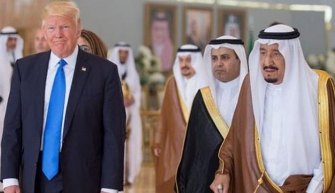 Trump'ın Suudi Arabistan'a 'şartsız desteği'ne tepki