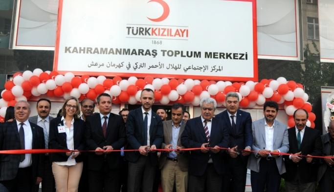 Türk Kızılayı'nın 13. Toplum Merkezi açıldı