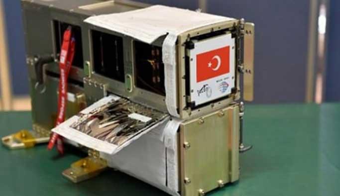Türkiye'nin küp uydusu uzayda!